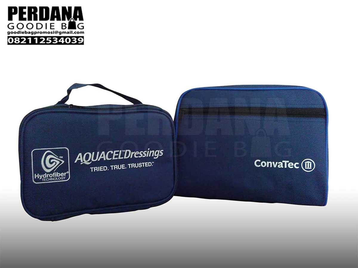 Pouch bahan micro dan bahan D300 pesanan klien convatec