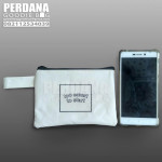 Q2865 pouch dompet too smart bahan dinier d600