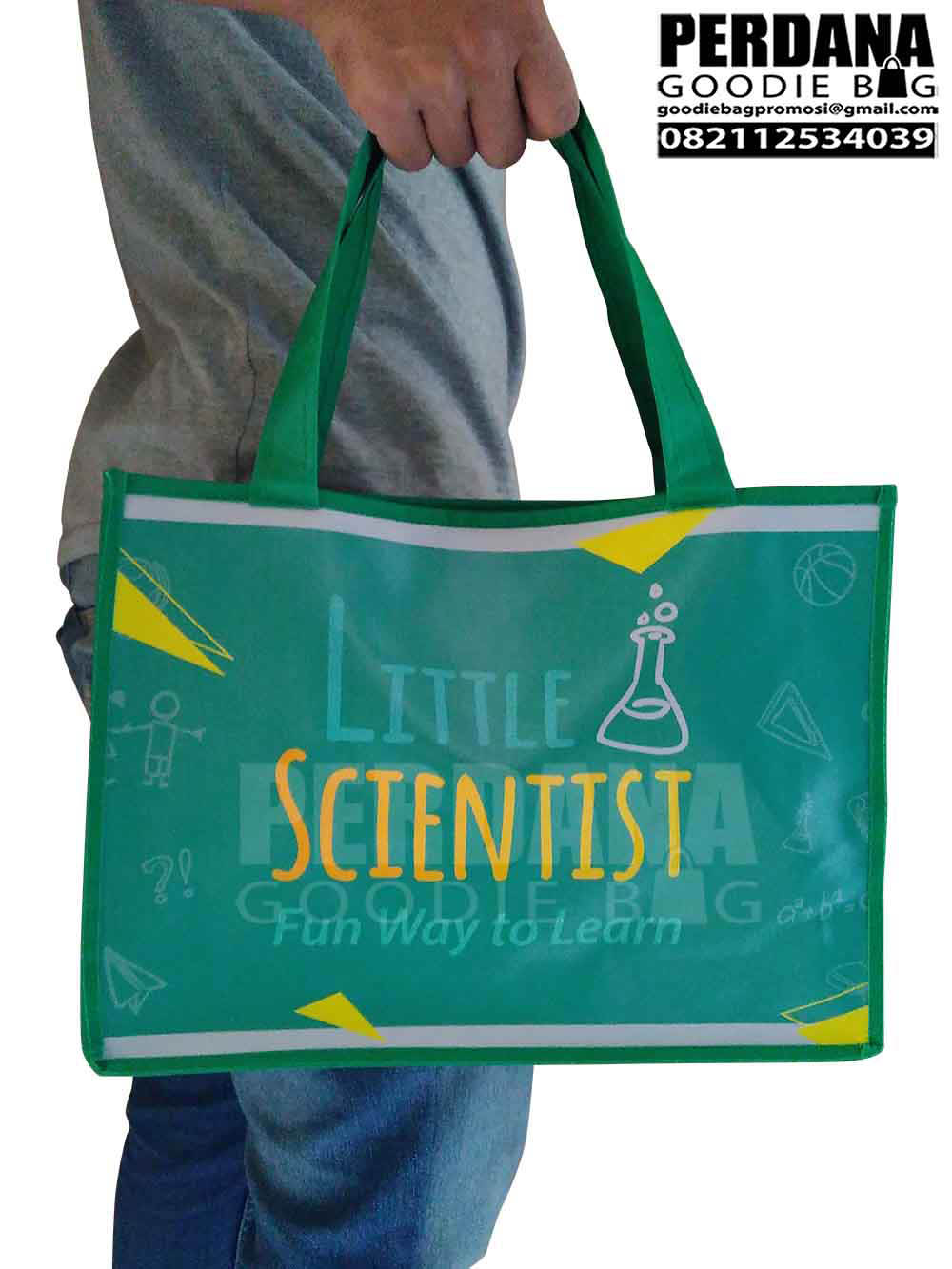 Tas Digital Printing Kalep Scientist