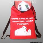 backpack taslan printing bymax duren sawit