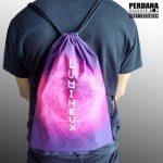 drawstring bag printing taslan lumineux Q3411