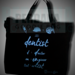 goodiebag kanvas gigi dentist