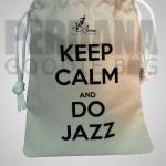 pouch serut bahan drill jazz perdana