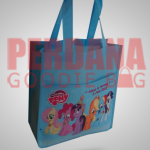 tas ultah anak Bahan spunbond printing litte pony