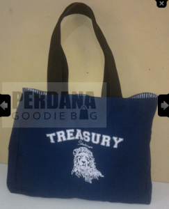 gambar canvas beach bag
