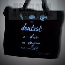 Tas Kanvas Modern Dentist