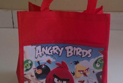 Goodie Bag Tas Jinjing Angry Bird
