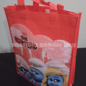 Goodie Bag Ultah Kulit Jeruk smurf