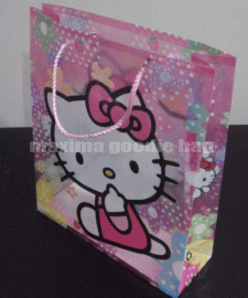 Goodie Bag Ultah Anak Plastik Hello Kitty