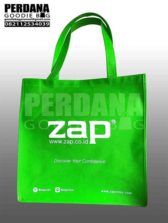Tas Promosi Bahan Spunbond Klien Zap