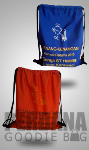 Tas Souvenir Serut Sebagai Kenang-kenangan ST Helena