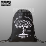 drawstring bag spunbond makrab kampus