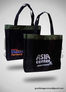 Jual Tas Kanvas Custom Perdana Goodie Bag