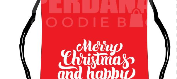 Goodie Bag Natal Berupa Layout Sebelum Naik Produksi