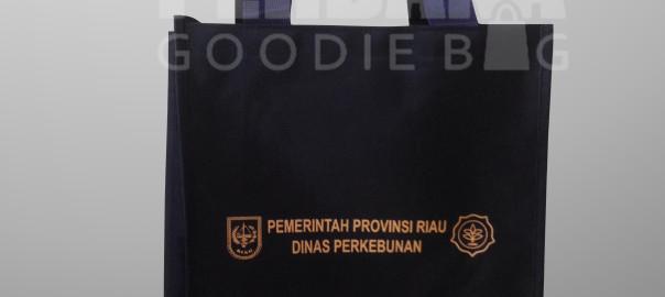 Souvenir Tas Murah Bahan D1680 Klien Dinas Perkebunan Riau