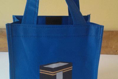 Souvenir Tas Untuk Haji Bahan Spunbond Pesanan Klien Di Batam