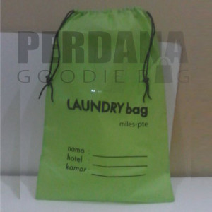 Tas Spunbond Jakarta Laundry Bag Serut Jakarta Barat