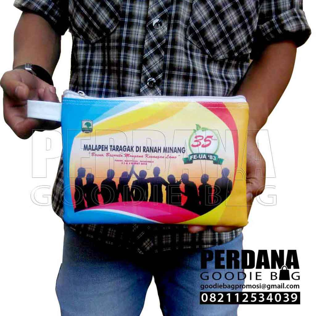 Contoh Pouch Dompet Bahan Kalep Printing Q3762