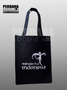 Goodie Bag Spunbond Ready Stock Sablon 1 Warna Klien Depok