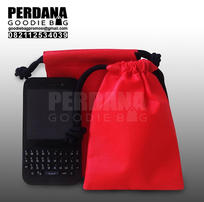 contoh pouch bahan spunbond polos