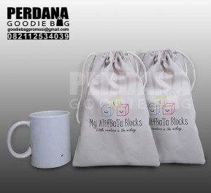 Goody Bag Murah Meriah Serut Bahan Drill