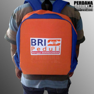 Q2783 ransel bag BRI Papua by Perdana Goodie Bag
