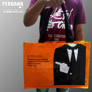 Q2868 tote bag kanvas bpjs by perdana