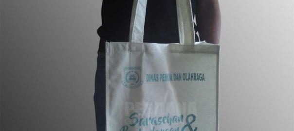 souvenir tas blacu murah custom perdana goodie bag