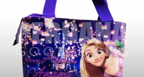 goodie bag ultah tas jinjing princess rapunzel