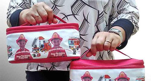 tas souvenir murah ultah anak pouch snack Q3215