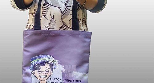 Tas Kanvas Warna Alston Printing Q3493