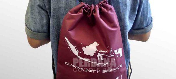 tas untuk souvenir bahan taslan comunity service di tanjung duren Q3626