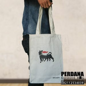 souvenir tas kanvas off white energy jaksel by perdana Q3875
