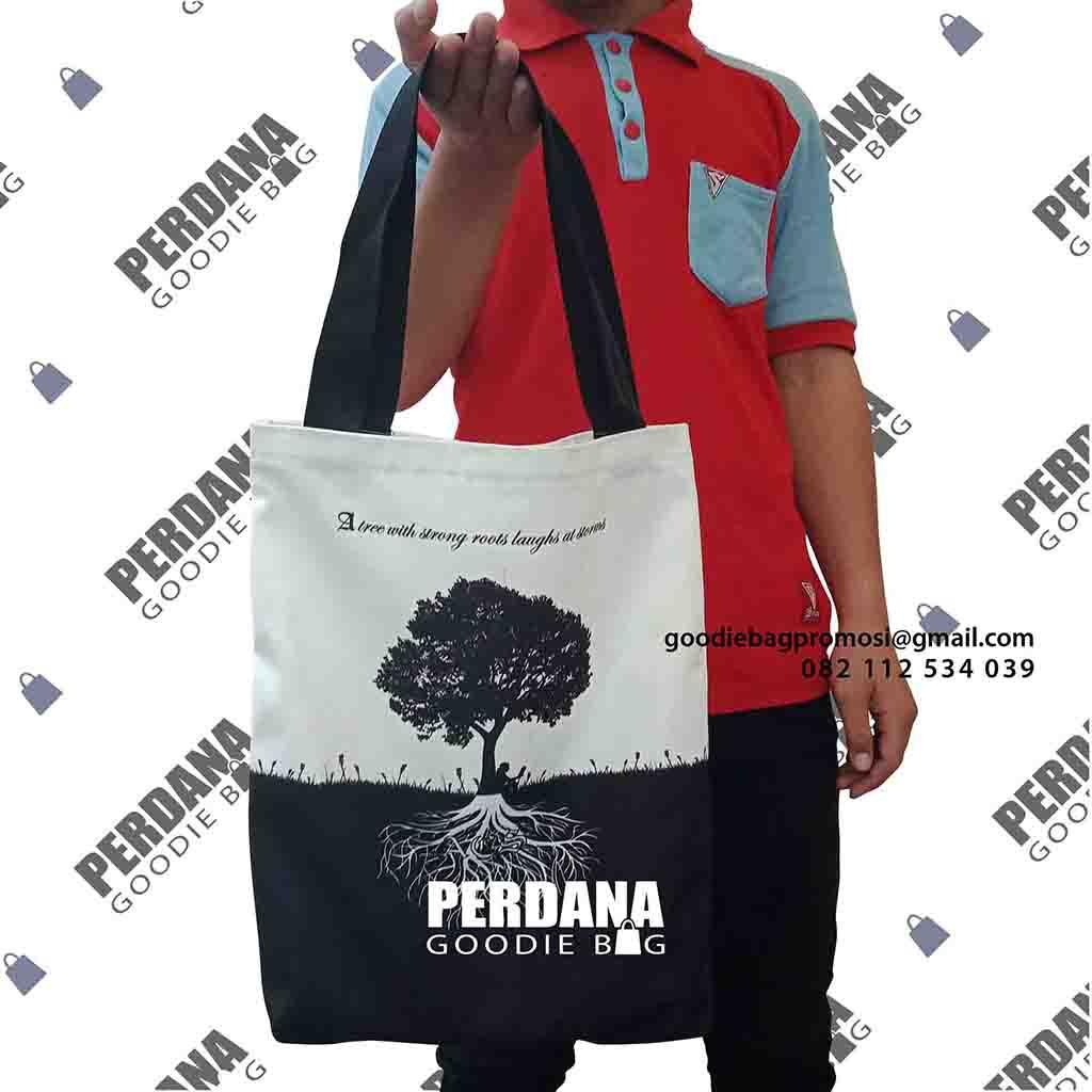 tas kanvas printing untuk souvenir custom klien menteng