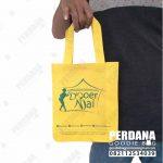 tas promosi spunbond kuning dari Perdana