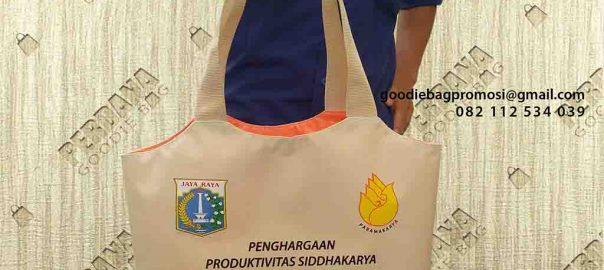 jual tas souvenir pemerintahan DKI Jakarta kombinasi warna by Perdana id4497