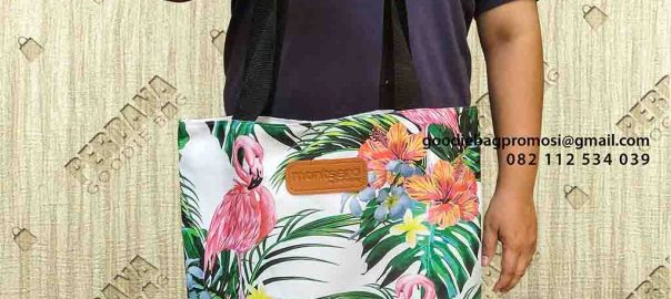 tote bag wanita cantik custom di Pademangan by Perdana Goodie Bag id4269