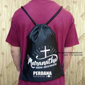 drawstring bag anti air marantha kalimantan utara id5058