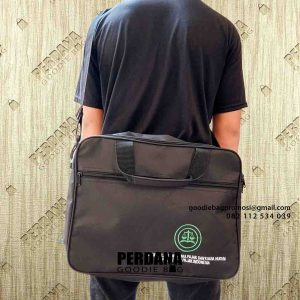 tas laptop selempang bordir di Cengkareng by Perdana Goodie Bag id5012