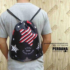 tas printing serut full warna di Kebayoran Baru by Perdana Goodie Bag id4926