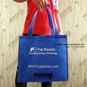 contoh tas go green biru benhur di Sudirman by Perdana id5157