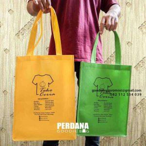 jual goodie bag custom bahan spunbond di Bogor by Perdana id5256