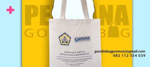 contoh souvenir tas murah custom di Bengkulu by Perdana Goodie Bag id5536