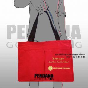 jual tas kanvas murah custom di Bogor by Perdana id5621