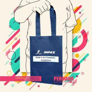 jual goodie bag custom desain sablon by Perdana id4539