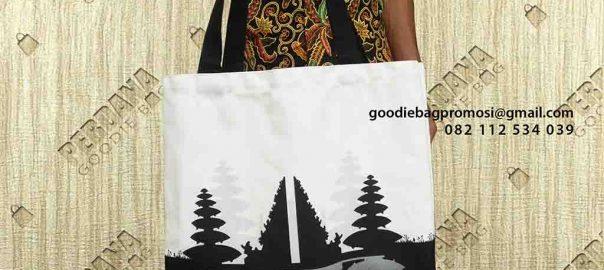 jual tas kanvas custom desain printing by Perdana Goodie Bag di Tanah Abang id6357