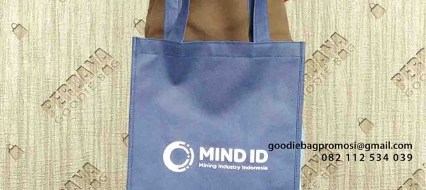 jual goodie bag souvenir murah bahan spunbond Perdana Goodie Bag id6644
