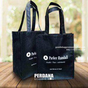 Goodie Bag Spunbond Desain Sablon Menara Palma Kuningan Setiabudi Jakarta Id8385P